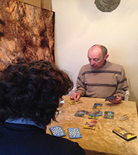 warren card reading